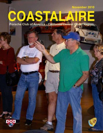 November - California Central Coast - Porsche Club of America