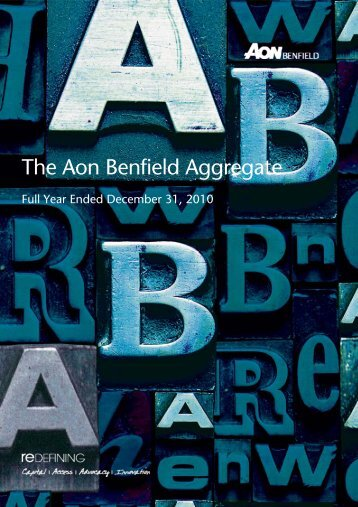 The Aon Benfield Aggregate - Reinsurance Thought Leadership ...