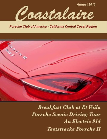 California Central Coast - Porsche Club of America