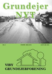 Blad januar 2001 - Viby Grundejerforening