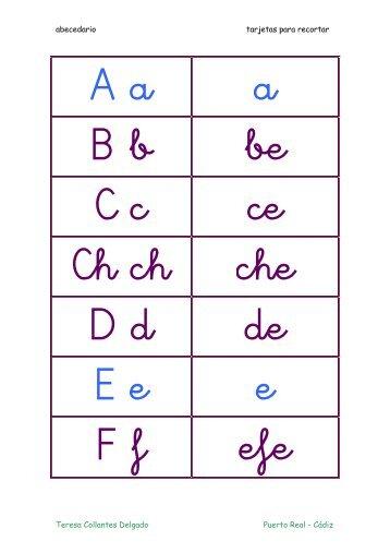abecedario en pdf.
