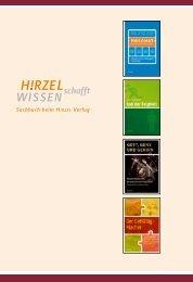 Sachbuch beim Hirzel Verlag - Franz Steiner Verlag