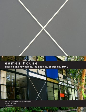 eames house - MyWeb at WIT