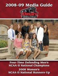 2008-09 Media Guide - Drury University Athletics