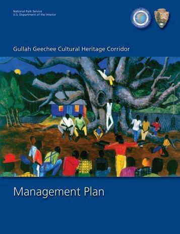 Management Plan - Gullah Geechee Corridor