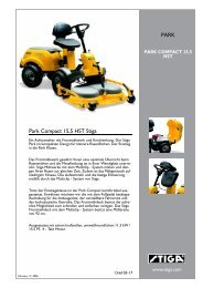 Park Compact 15,5 HST Stiga PARK