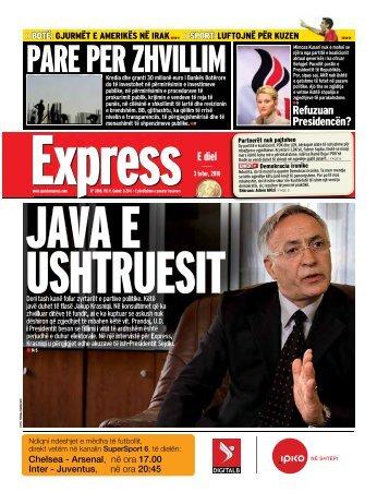 PARE PER ZHVILLIM - Gazeta Express