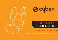 SOLUTION X USER GUIDE - Cybex