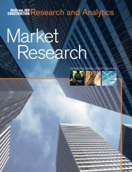 Market Research - McGraw Hill Construction
