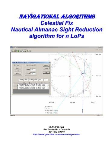 Navigational Algorithms - Watchuseek, World's Most Visited Watch ...
