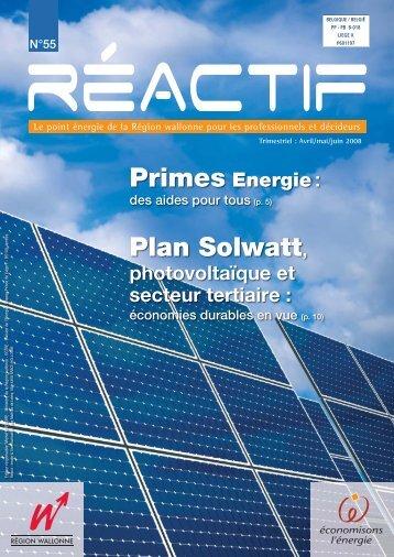 REactif 55 - Energie Wallonie