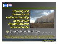 ASTER Derived Soil Moisture
