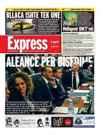 BLLACA ISHTE TEK UNE - Gazeta Express