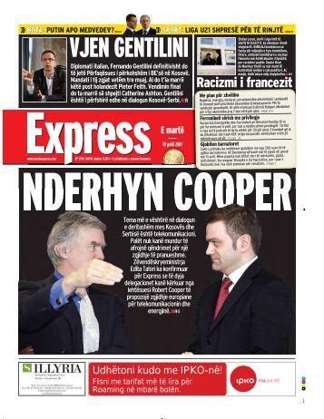 VJEN GENTILINI - Gazeta Express