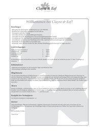 Willkommen bei Clayre & Eef! - frauhorn.de