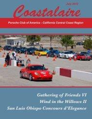 Coastalaire July 2012 Porsche Club Of America – California