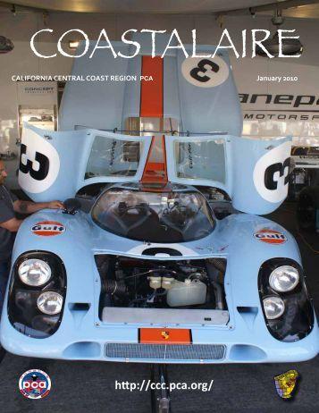 January - California Central Coast - Porsche Club of America