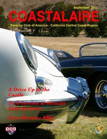 September - California Central Coast - Porsche Club of America