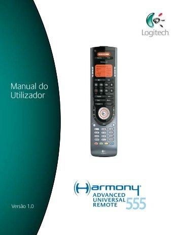 Utilizar o Harmony 555 - Harmony Remote