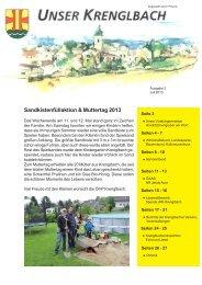 Unser Krenglbach – Juli 2013