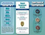 Terrorism - City of San Diego