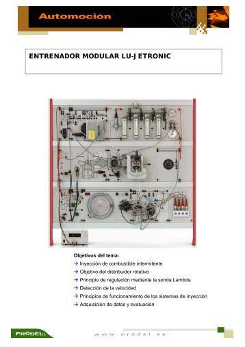 ENTRENADOR MODULAR LU-JETRONIC