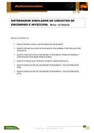 ENTRENADOR SIMULADOR DE CIRCUITOS DE ENCENDIDO E ...