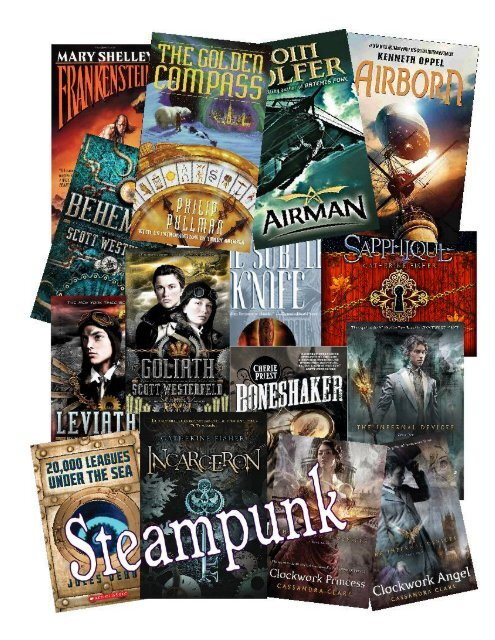 Steampunk Fiction at the JLS Library
