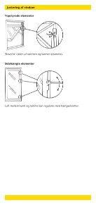 Opmåling og montering af vinduer og døre i træ - GF-Rugbakken - Page 5