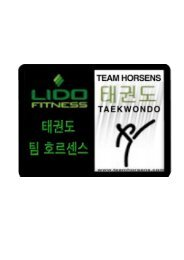 Download Pensum - Taekwondo Team Horsens
