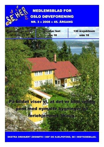 nr 3 - Norsk Døvehistorisk Selskap