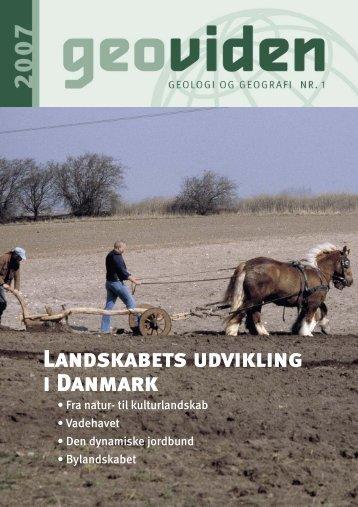 Landskabets udvikling i Danmark - Geocenter København