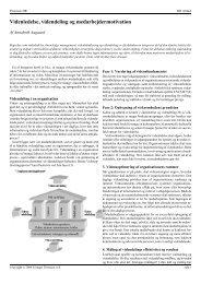 Læs hele artiklen (i PDF) - den vidende virksomhed