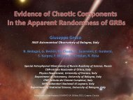 Evidence of Chaotic Dynamics in Gamma Ray Burst ... - ADA7