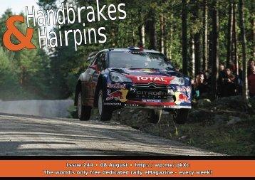 Handbrakes & Hairpins issue 244