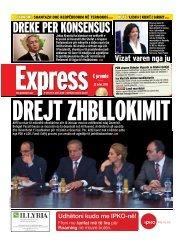DREKE PER KONSENSUS - Gazeta Express