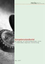 Kompetencelandkortet - Bibliotekarforbundet