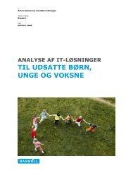 til udsatte børn, unge og voksne - Velkommen til Århus Kommune