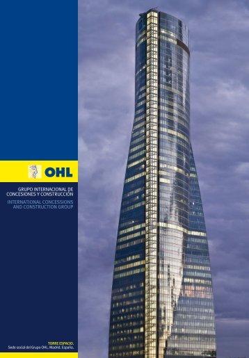 grupo internacional de concesiones y construcción ... - Ohl