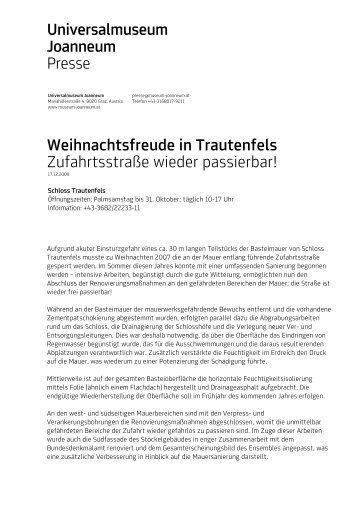 Straße Trautenfels.pdf - Universalmuseum Joanneum