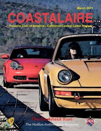 March - California Central Coast - Porsche Club of America