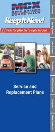 Service Plan Benefits