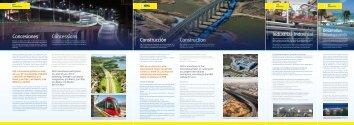 Concesiones Concessions Construcción Construction ... - Ohl
