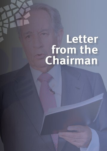Letter from the Chairman - Ohl