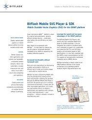 BitFlash Mobile SVG Player & SDK - Texas Instruments