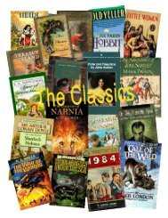 Classics - Jane Lathrop Stanford Middle School
