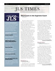 JLS Times Issue 4: April 2012 (pdf)