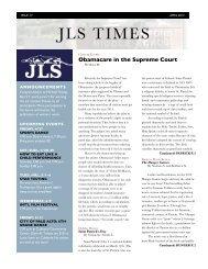 JLS Times Issue 4: April 2012 (pdf)
