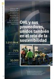 OHL y sus proveedores, unidos también en el reto de la sostenibilidad