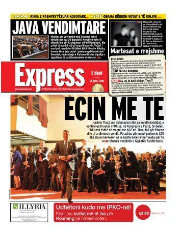 JAVA VENDIMTARE - Gazeta Express